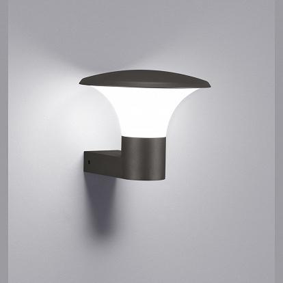 pilzf rmige ip44 wandleuchte f r draussen. Black Bedroom Furniture Sets. Home Design Ideas