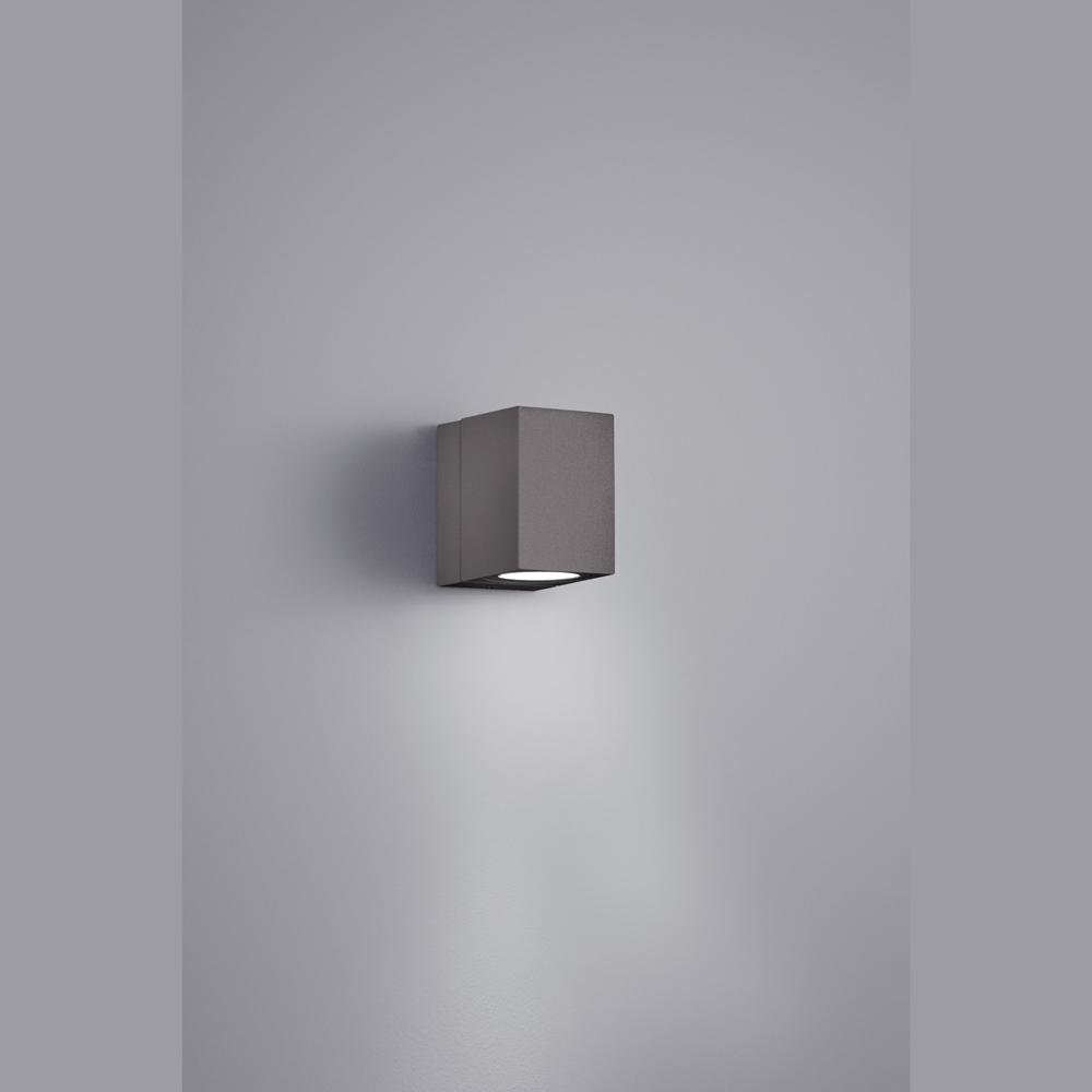 drehbare led wand aussenlampe anthrazit. Black Bedroom Furniture Sets. Home Design Ideas