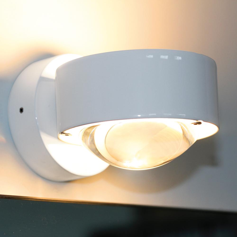 wandleuchte puk wall von toplight in weiss. Black Bedroom Furniture Sets. Home Design Ideas