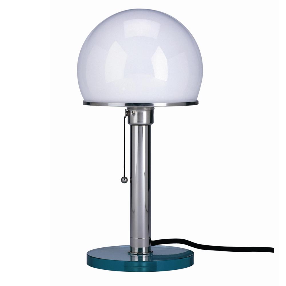 bauhaus wagenfeld schreibtischlampe glasfuss und schaft. Black Bedroom Furniture Sets. Home Design Ideas