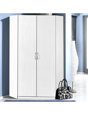 armoire d angle sprint 2 portes. Black Bedroom Furniture Sets. Home Design Ideas