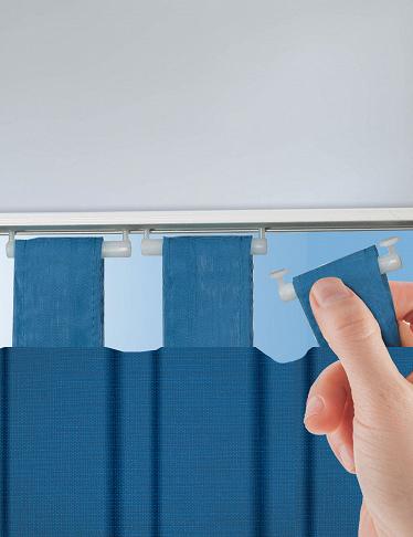 glisseurs pour rideaux sur rail set de 10 pi ces. Black Bedroom Furniture Sets. Home Design Ideas