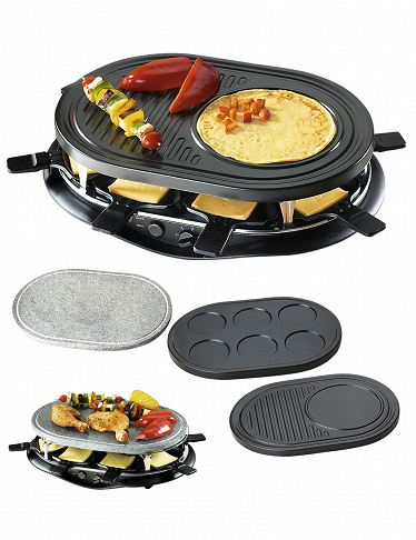 Crepe Raclette Gril Party