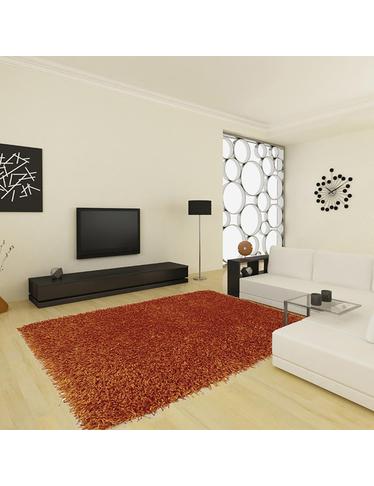 tapis silky 200 x 290 cm terra. Black Bedroom Furniture Sets. Home Design Ideas