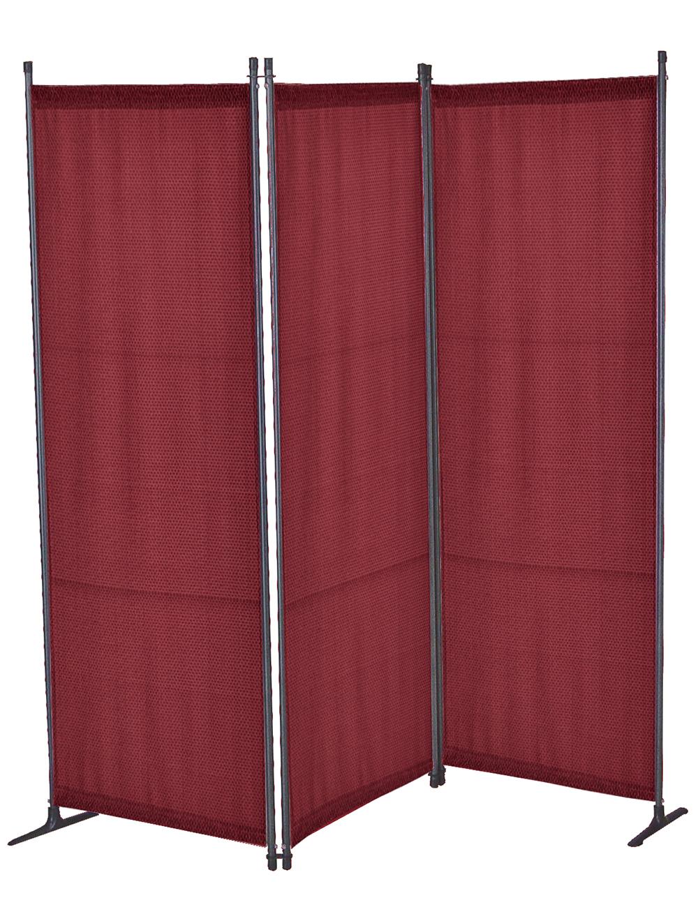 paravent bordeaux 165 x 165 cm. Black Bedroom Furniture Sets. Home Design Ideas