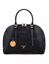 Handtasche «Maddy Girlfriend Satchel» Guess, braunbedruckt
