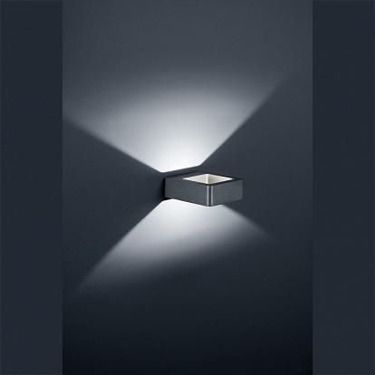 moderne design wandleuchte f r aussenfassaden led. Black Bedroom Furniture Sets. Home Design Ideas