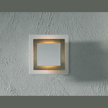 kompakte wand oder deckenleuchte mit blattgold. Black Bedroom Furniture Sets. Home Design Ideas