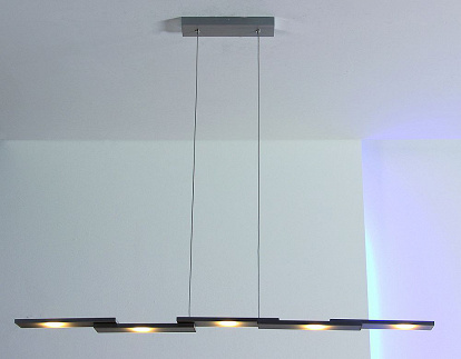 bopp cubus led h ngelampe dimmbar alu geschliffen. Black Bedroom Furniture Sets. Home Design Ideas