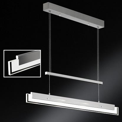 pr chtige h ngelampe mit 6 dimmbaren led. Black Bedroom Furniture Sets. Home Design Ideas
