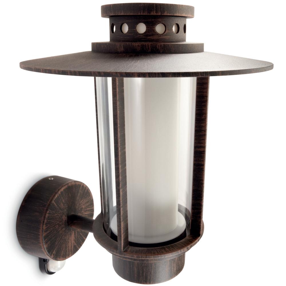 traditionelle aussen wandlampe mit bewegungsmelder. Black Bedroom Furniture Sets. Home Design Ideas