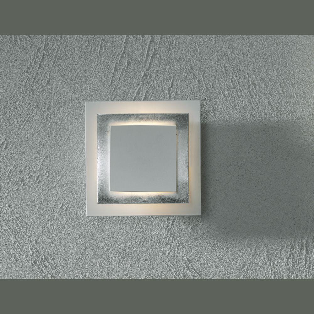 Silberne Wand blattaluminium belegte wand oder deckenle