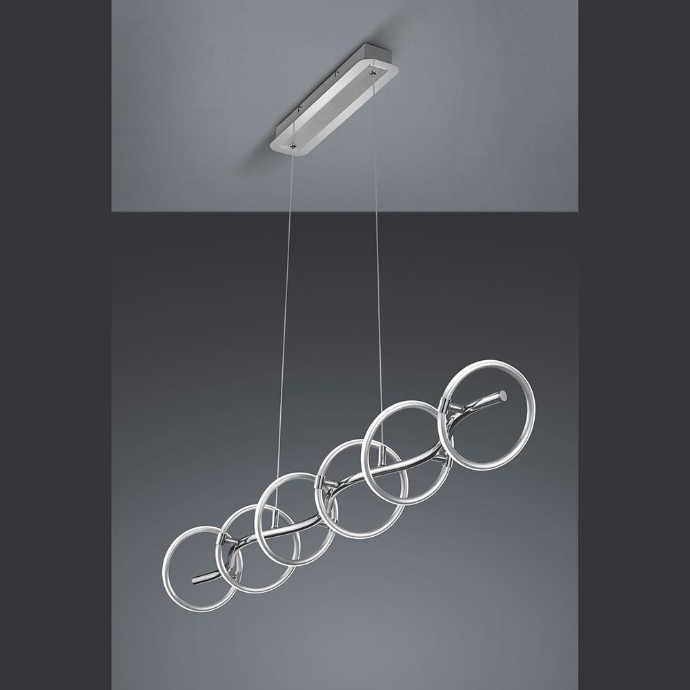 Licht Esstisch led hängeleuchte mit dimmbaren beweglichen licht ringen