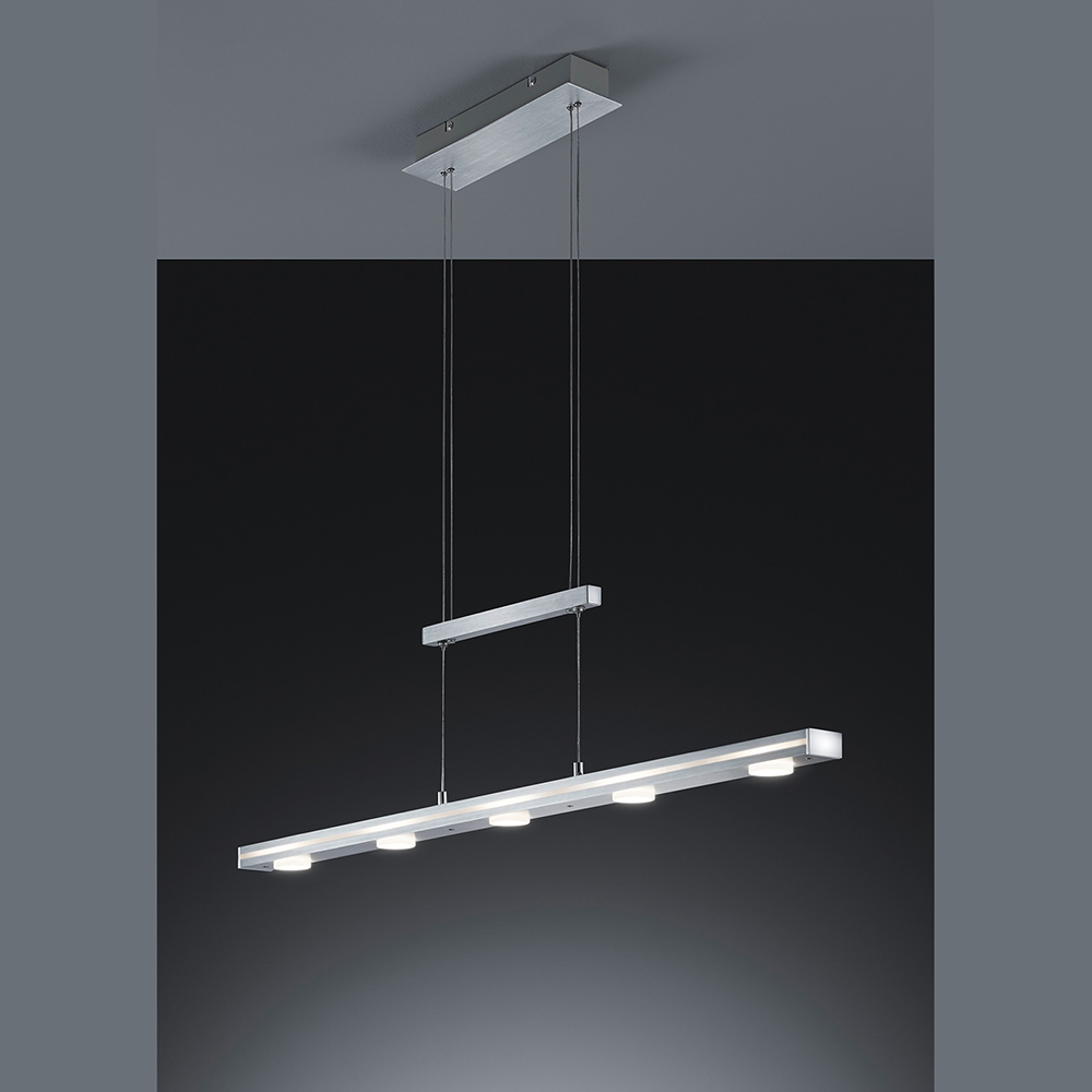 H henverstellbare led pendelleuchte mit touchfunktion for Led pendelleuchte
