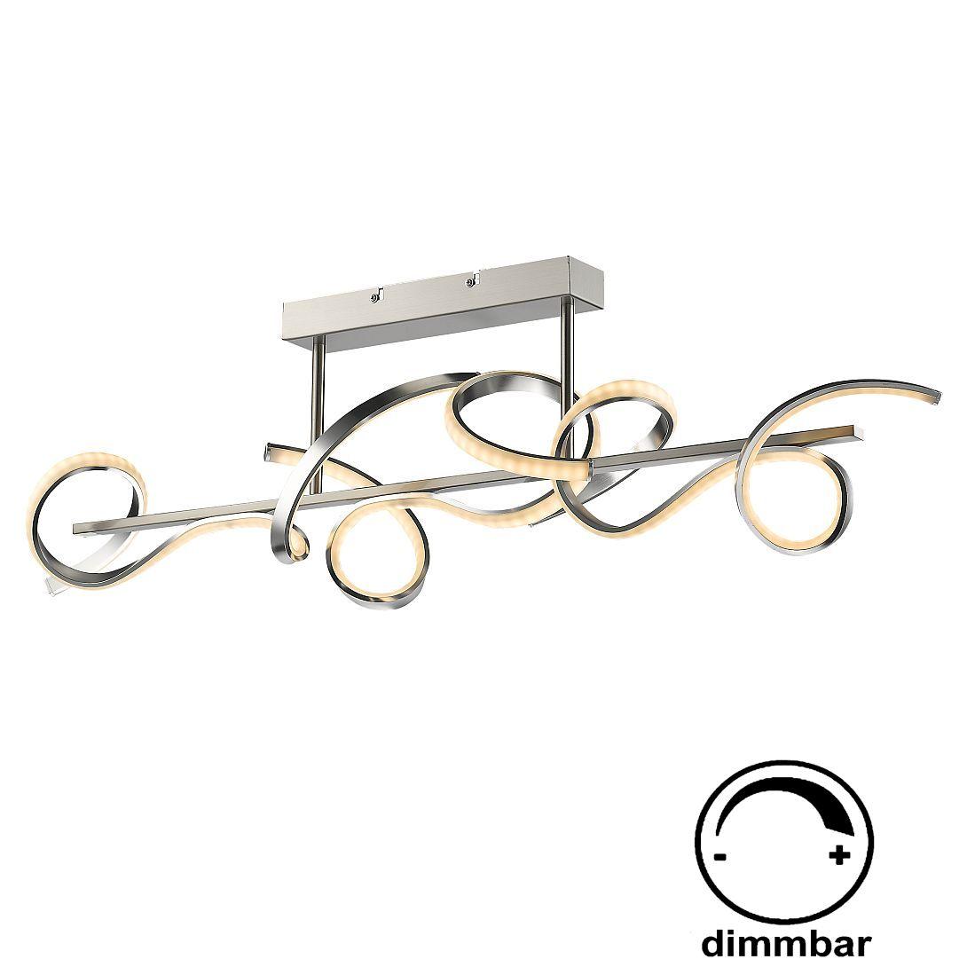 dimmbare led deckenlampe ultra modern. Black Bedroom Furniture Sets. Home Design Ideas
