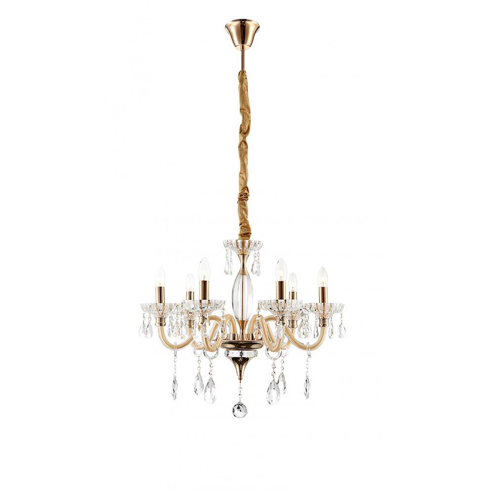 l ster krone mit kristallbehang f r funkelnde beleuchtung. Black Bedroom Furniture Sets. Home Design Ideas