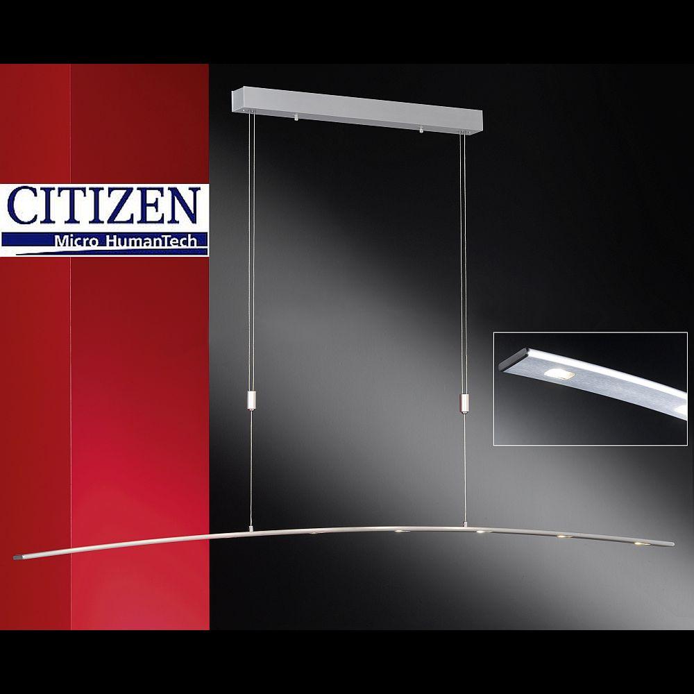 h ngelampe mit 8 citizen led dimmbar zur ausleuchtung langer tische. Black Bedroom Furniture Sets. Home Design Ideas