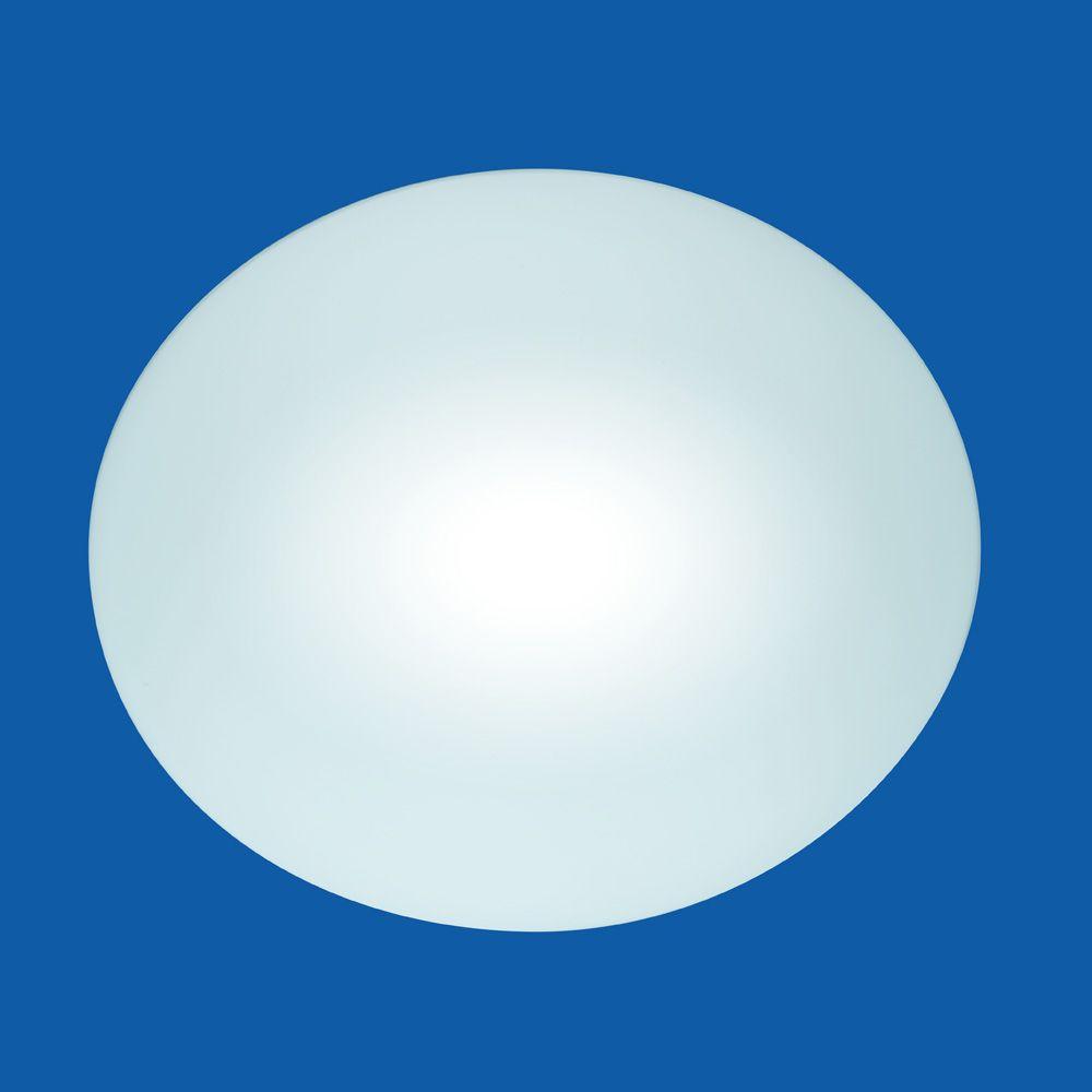 grosse Deckenlampe in schlicht gehaltener Form