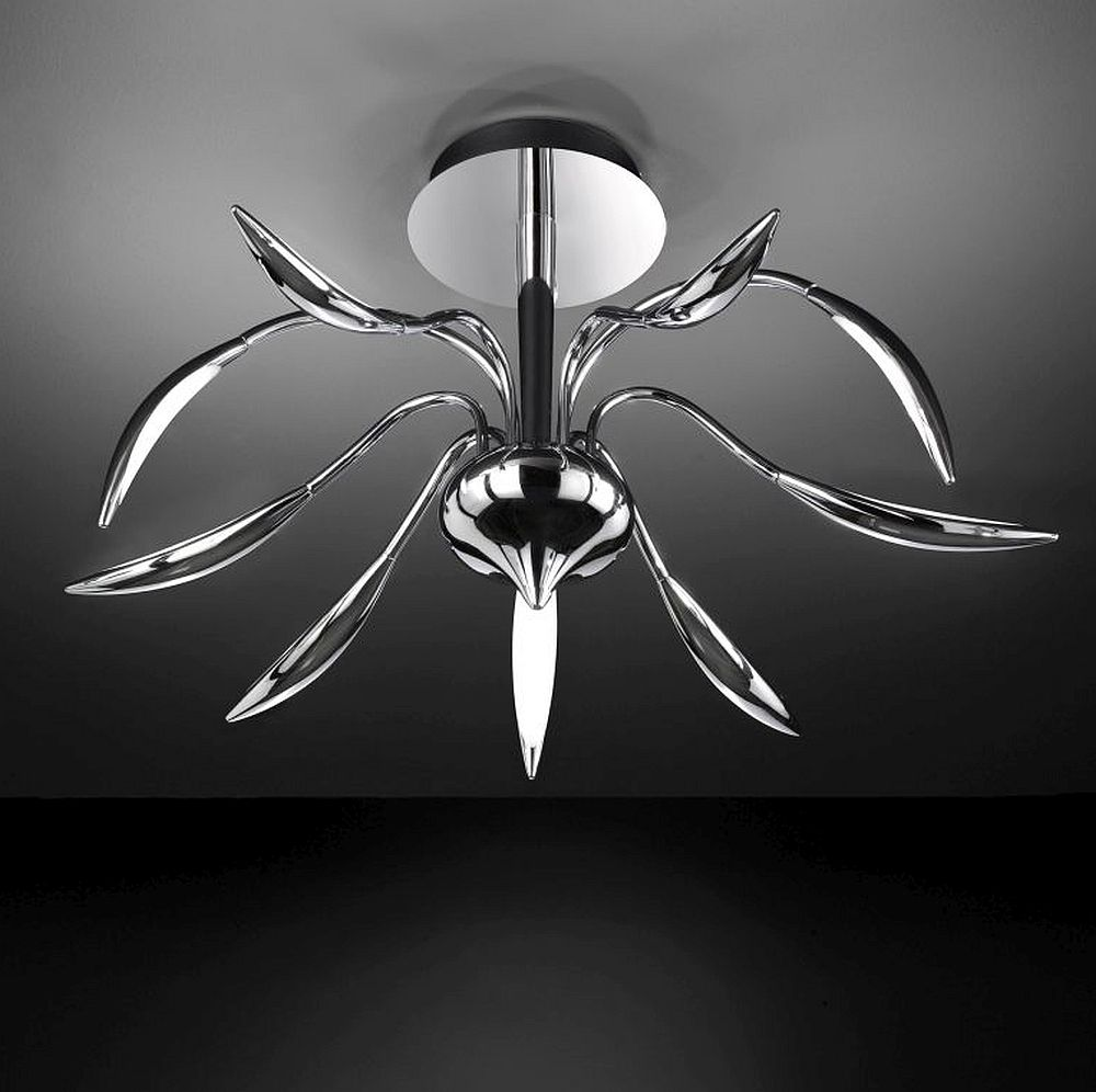 led deckenlampe dimmbar ein echtes design st ck. Black Bedroom Furniture Sets. Home Design Ideas