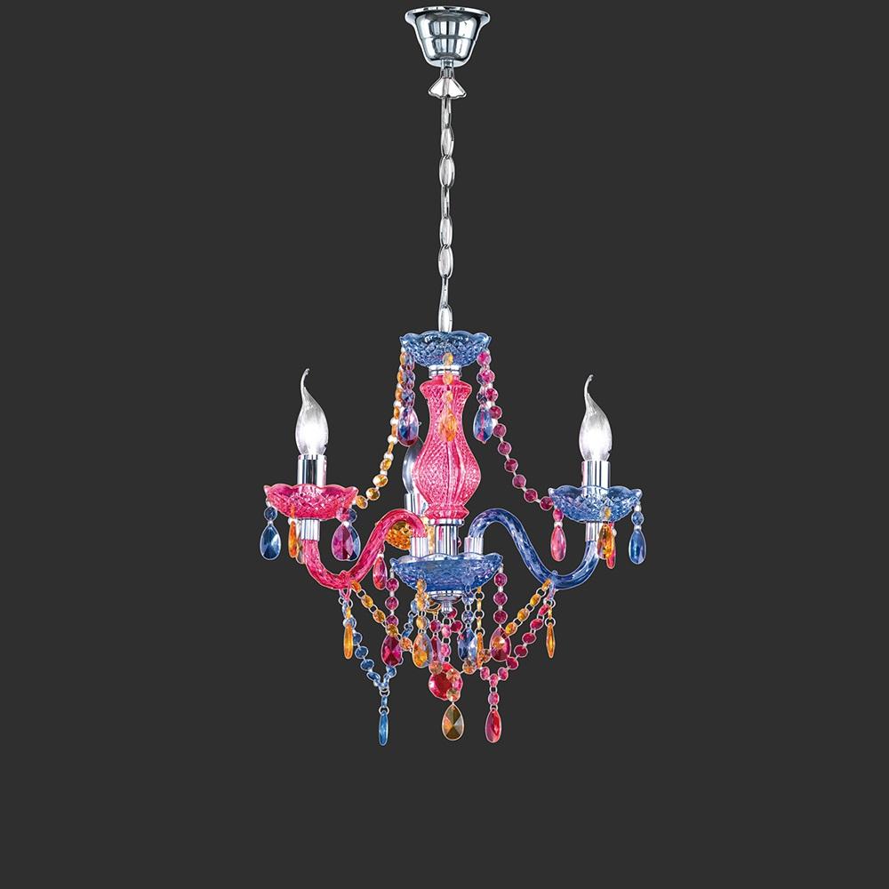 l sterkrone als vielfarb lichtspiel originelle h ngeleuchte. Black Bedroom Furniture Sets. Home Design Ideas