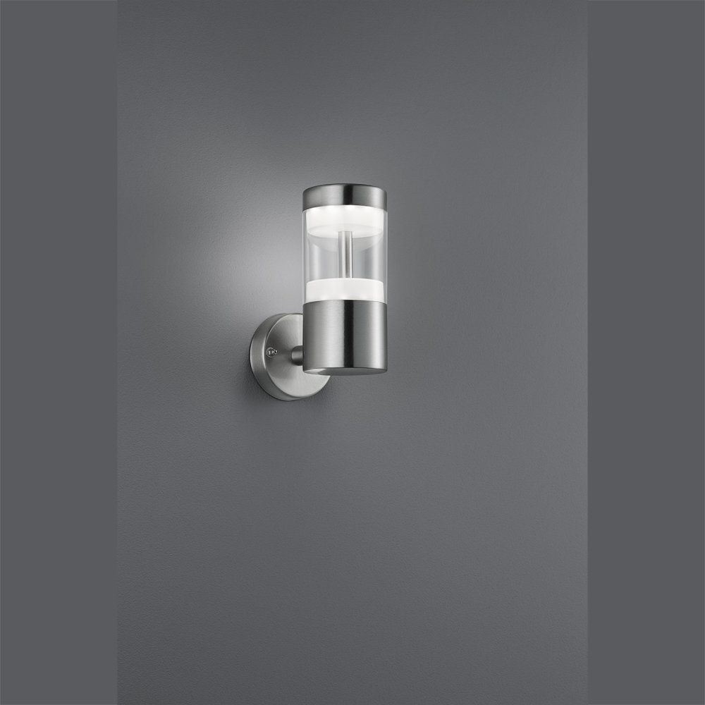 design aussenleuchte led licht aus rostfreiem edelstahl. Black Bedroom Furniture Sets. Home Design Ideas