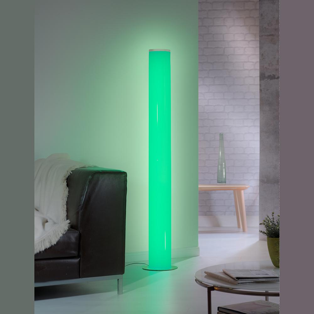 Design Stehleuchte Farben Vielfalt Dimmbar Hohe 150 Cm