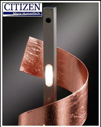 Stehlampe Mit Dimmer 6 Citizen Led Kupferfarben