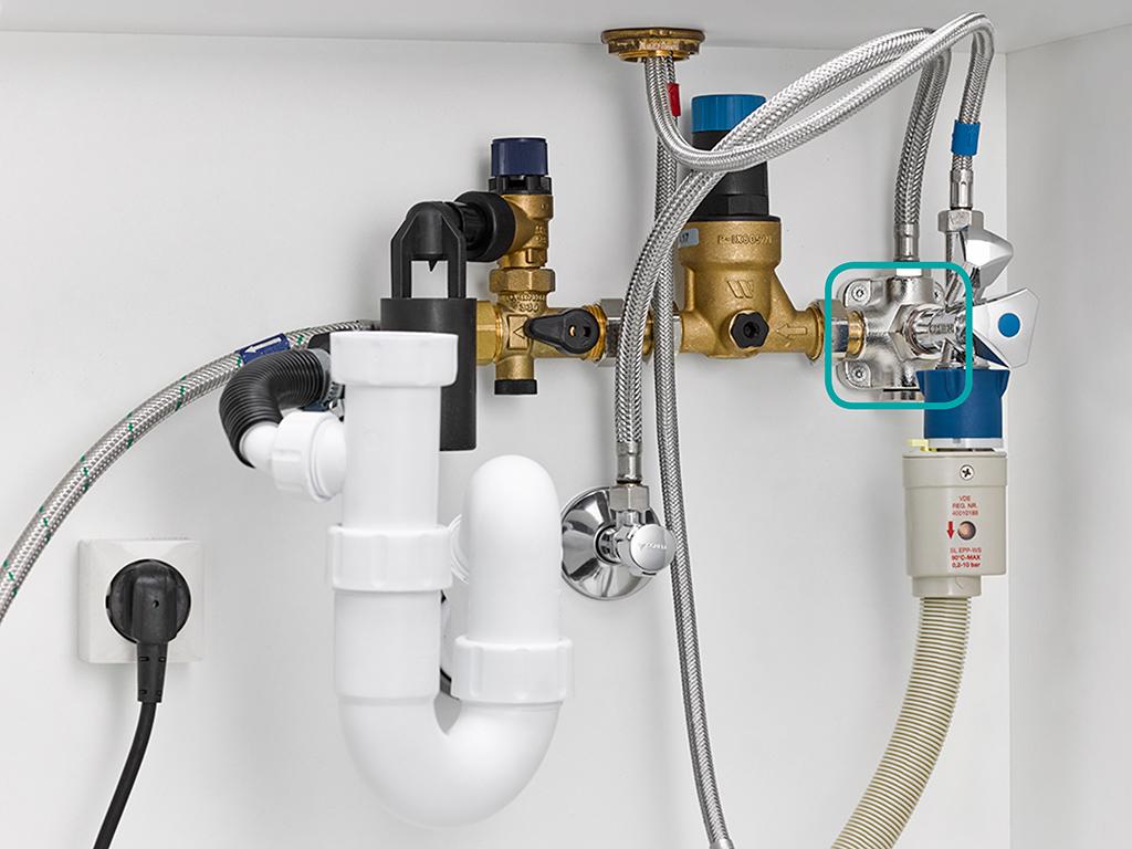 MONTEC® Hauswasserinstallation MIT Water Box