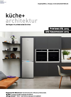Cover küche + architektur 31.08.2015