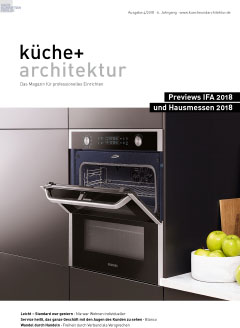 Cover küche + architektur 29.08.2018