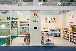 Messestand 100% Design London