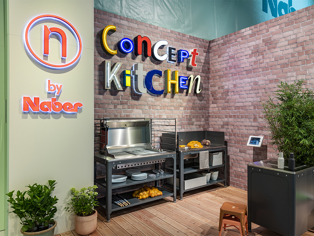 Messestand area30 2018, Concept Kitchen