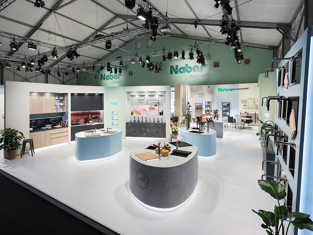 area30 Löhne 2019: Naber trade fair stand