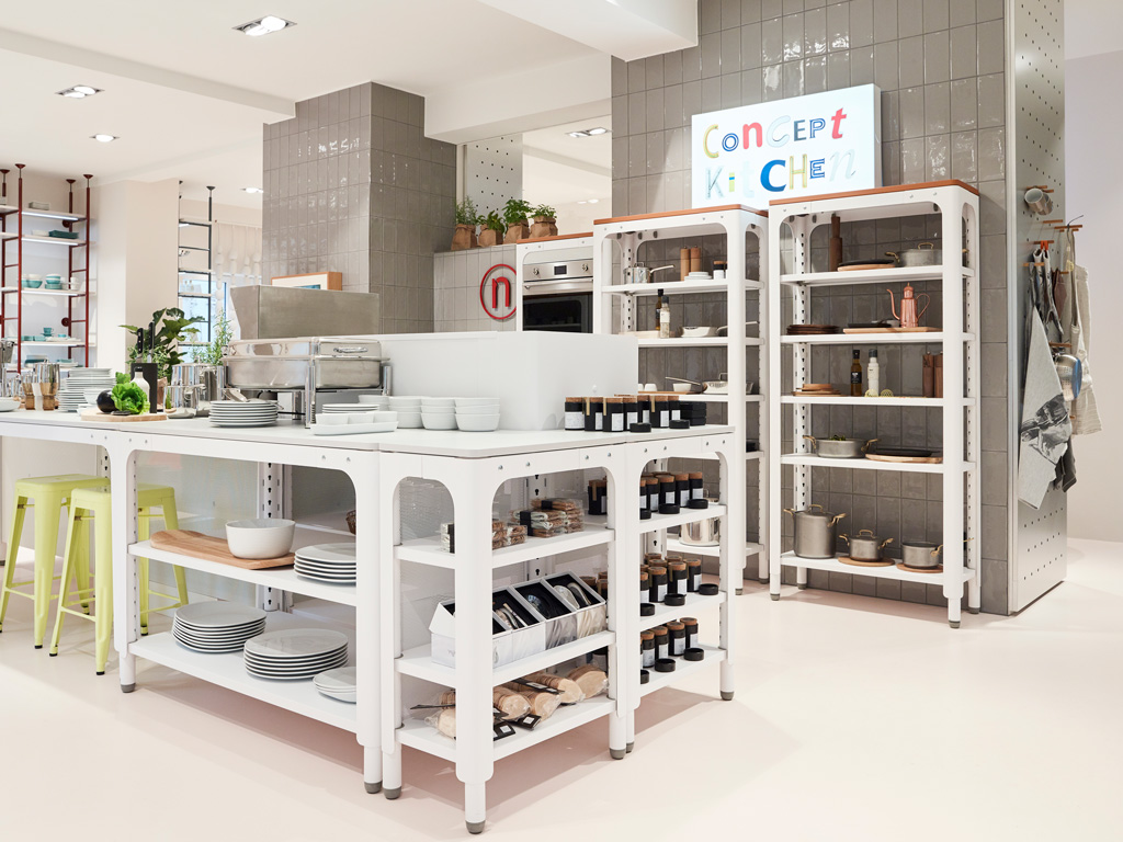 Concept Kitchen, Rosenthal Store, München. Photo Credit: Rosenthal GmbH