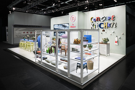 Messestand LivingKitchen 2017