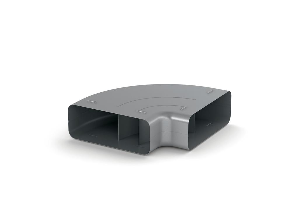 SF-RBH 150 Rohrbogen horizontal 90°, verzinkter Stahl