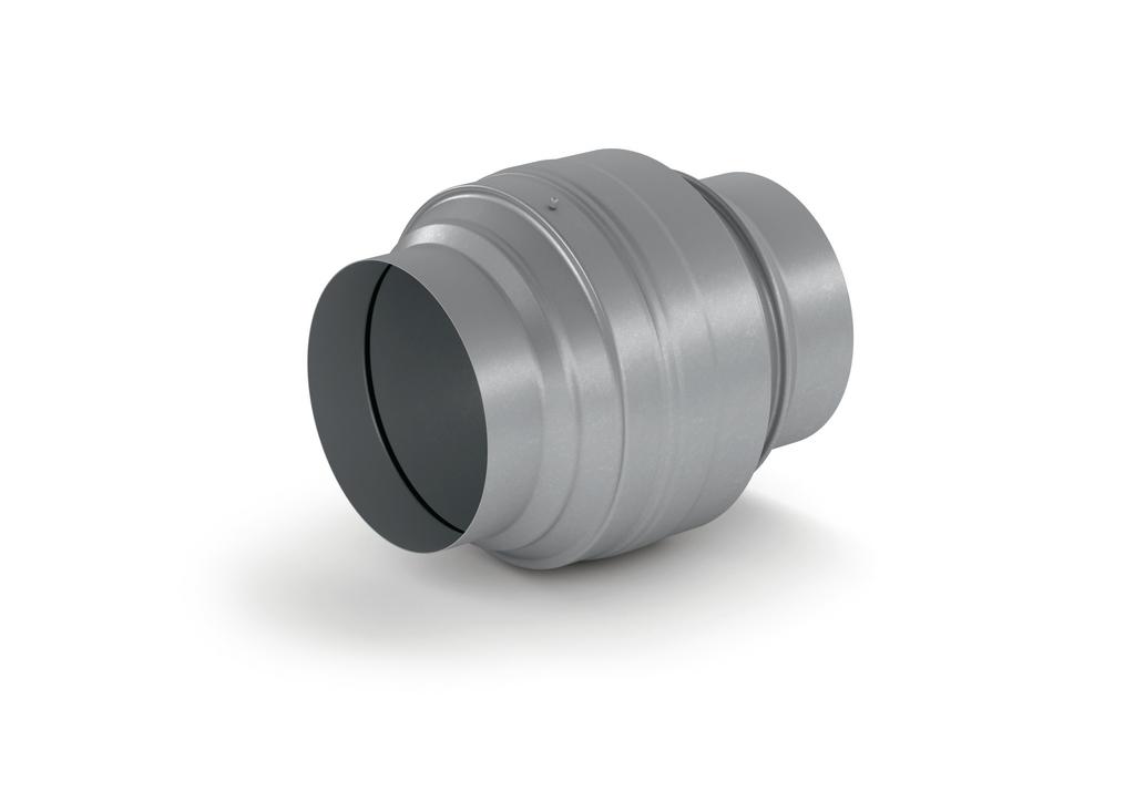 Absperrvorrichtung/Brandschutzklappe 150, verzinkter Stahl