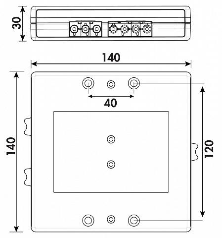 Naber Power Splitter Standard Und Induktion