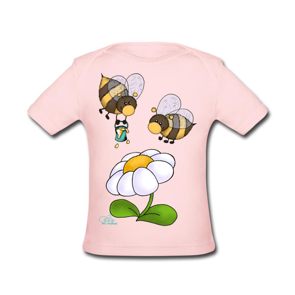 baby bio t shirt hummeln rosa 3 monate online kaufen zoostyle. Black Bedroom Furniture Sets. Home Design Ideas