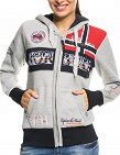 Geographical Norway Expedition Sweat für SIE «Flyer Lady», grau