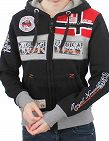 Geographical Norway Expedition Sweat für SIE «Flyer Lady», schwarz