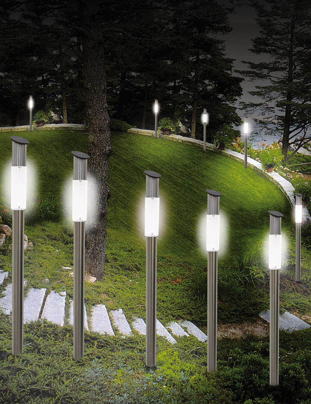 lampe solaire sur pied