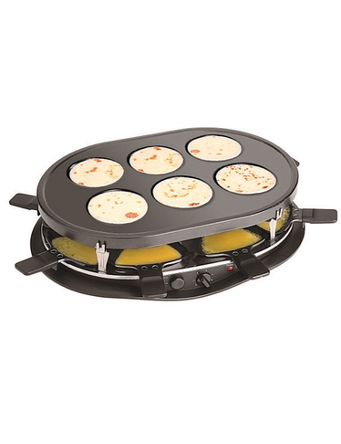 Crêpe-Raclette Party