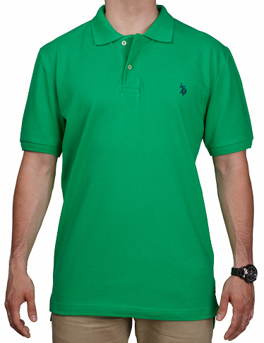 Polo-Shirt, US POLO ASSN., grün