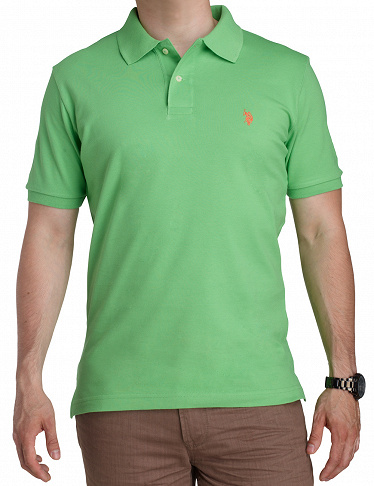Polo-Shirt US POLO ASSN., hellgrün