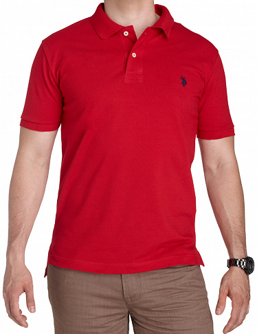 Polo-Shirt US POLO ASSN., rot