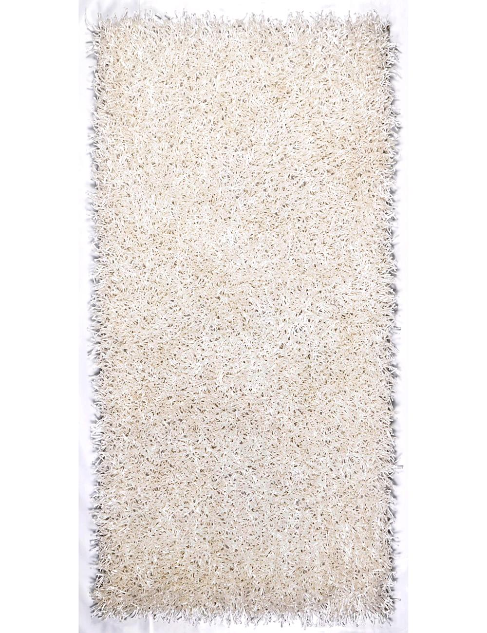 tapis silky 120 x 170 cm blanc. Black Bedroom Furniture Sets. Home Design Ideas