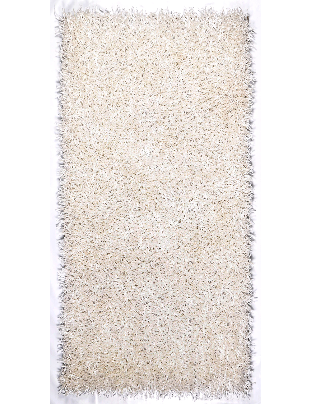 tapis silky 160 x 230 cm blanc. Black Bedroom Furniture Sets. Home Design Ideas