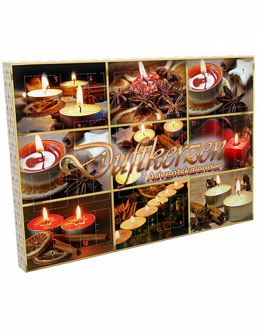 Image of Adventskalender «Duftkerzen»