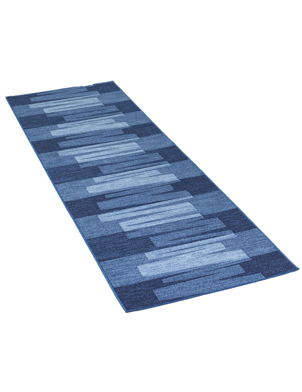 tapis de couloir nuovo bleu. Black Bedroom Furniture Sets. Home Design Ideas